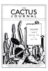 The Cactus Journal t.p thumbnail
